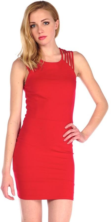 Donna Mizani Ultra Soft Multi Strap Dress