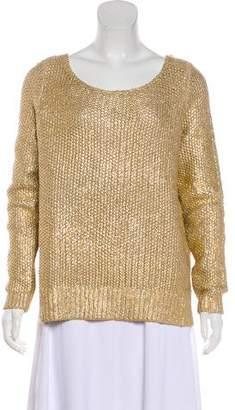 Calypso Metallic Knit Sweater