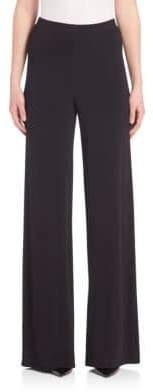 Yigal Azrouel Matte Jersey Wide-Leg Pants
