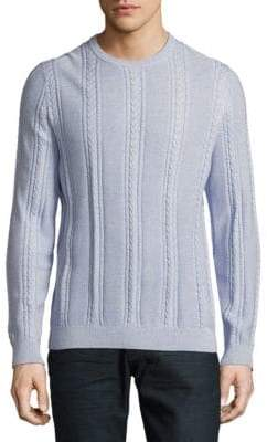Tommy Bahama Marled Sands Cable-Knit Sweater