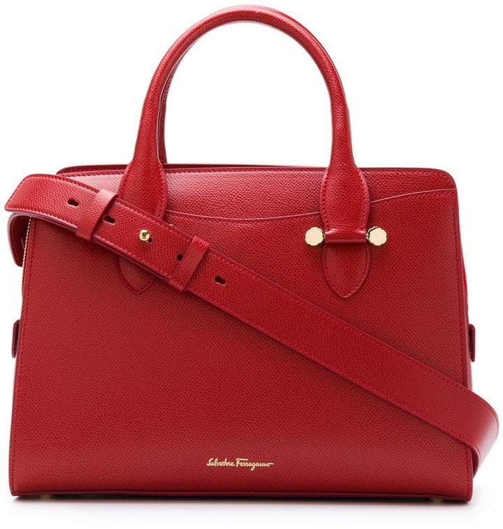 Salvatore Ferragamo small double handle bag