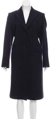 Loro Piana Metallic-Accented Wool Coat