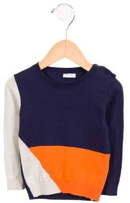 Il Gufo Boys' Colorblock Sweater