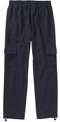 Big Men's Cargo Fleece Pant