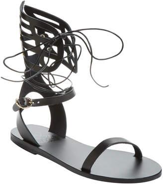 Ancient Greek Sandals Ikaria Mid Lace Gladiator Sandal