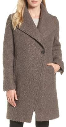 Tahari Sheila Boucle Knit Coat