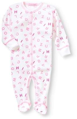 Baby Steps Newborn Baby Girl Footie Coverall Pajama