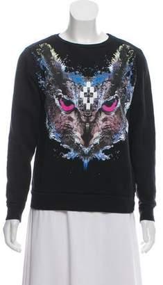 Marcelo Burlon County of Milan Abstract Printed Sweatshirt
