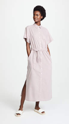 MAISON KITSUNÉ Cross Isabella Long Shirtdress