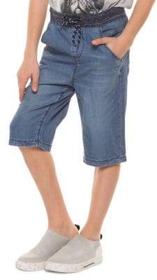 Dex Boy's Pull-On Denim Shorts