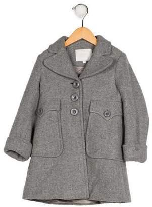 Gucci Girls' Wool Notch-Lapel Coat