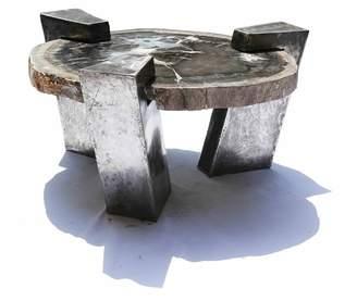 John Brevard Circular Coffee Table