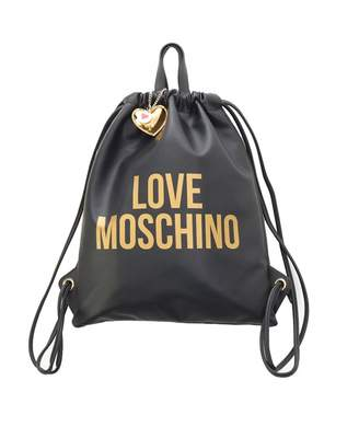 Love Moschino Accessories Logo Two In One Back Pack