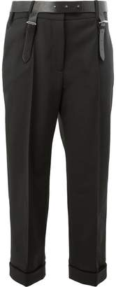 Vera Wang cropped tailored trousers