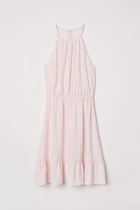 H&M Dress with Lace Back - Pink