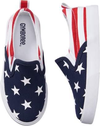 Gymboree Flag Sneakers