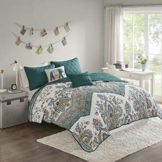 Allura Home Essence Apartment Printed Coverlet Set
