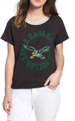 Junk Food Clothing NFL Eagles Kick Off Tee