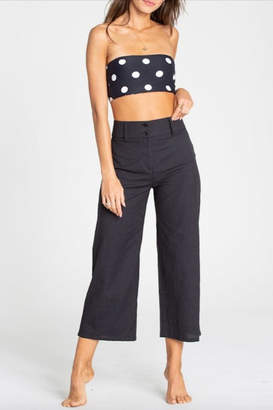 Billabong High-Waisted Black Cotton