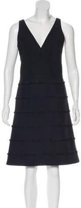 Akris Punto Neoprene Sleeveless Dress