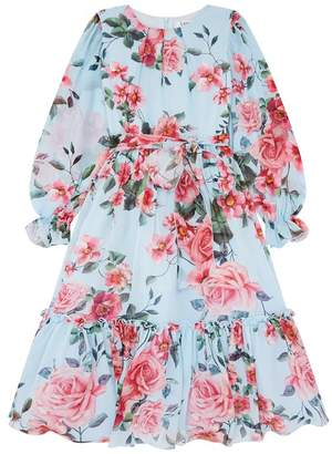 Lesy Floral Ruffle Dress