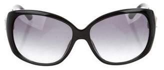 Jimmy Choo Logo Tinted Sunglasses