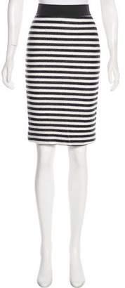 Jenni Kayne Striped Knee-Length Skirt