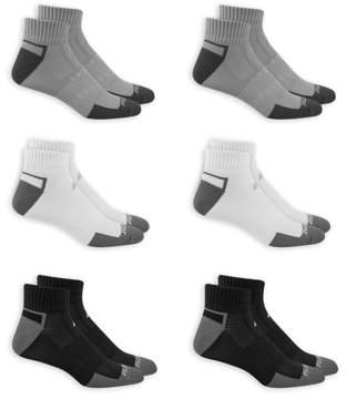 Russell Men's Performance FRESHFORCE Cushioned Ankle Socks 6 Pairs