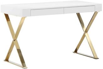 Pangea Gold X-Leg Desk