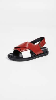 e93d1cfcd09 Marni White Women s Sandals - ShopStyle