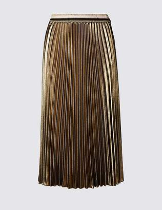 Marks and Spencer Pleated Midi Skirt