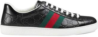 Gucci Ace Signature low-top sneaker