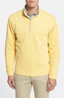 Cutter & Buck 'Fulltime' Pima Cotton Pullover (Big & Tall) $98 thestylecure.com