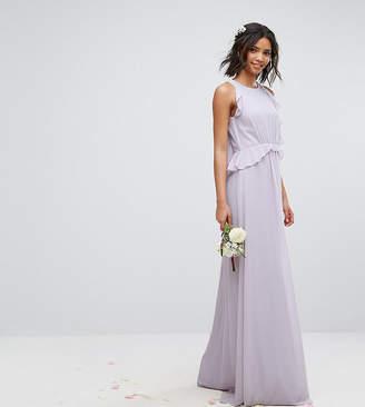 TFNC WEDDING Frill Detail Maxi Dress