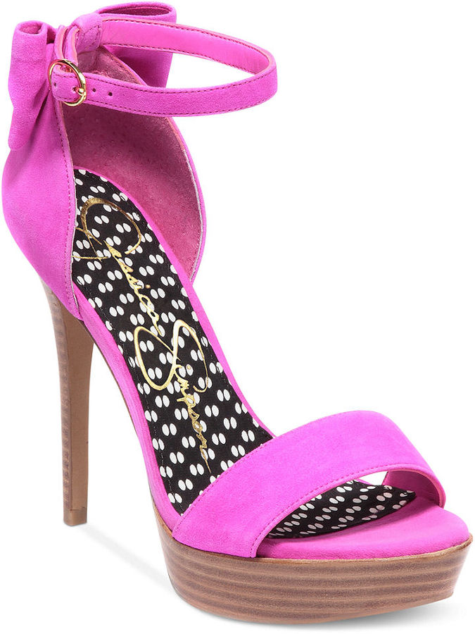 Jessica Simpson Shoes, Bowie Platform Dress Sandals