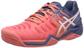Asics Women's's Gel-Resolution 7 Clay Tennis Shoes