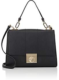 Versace WOMEN'S LEATHER CROSSBODY BAG-BLACK