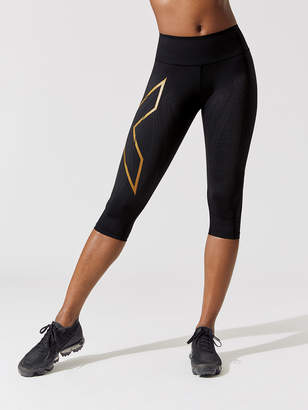 2XU MCS BONDED MID-RISE COMPRESSION 3/4 TIGHTS
