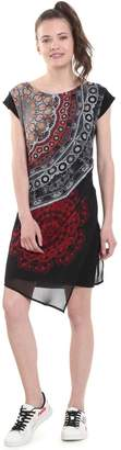 Desigual Short Floral Printed Shift Dress