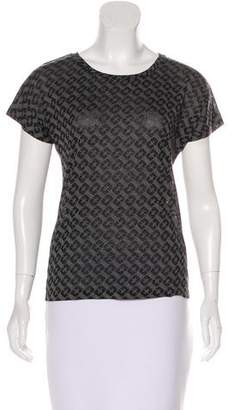 Diane von Furstenberg House Of Tee Printed Top