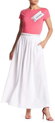 Love Moschino Gonna Lunga Embellished Maxi Skirt