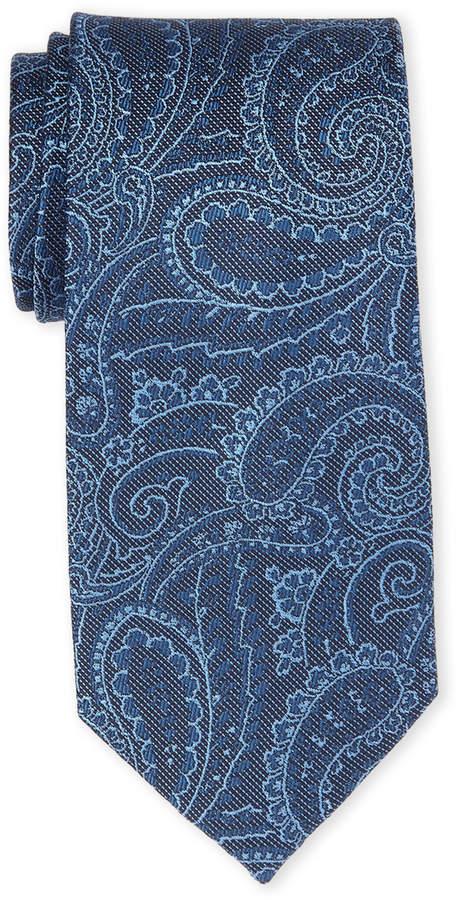 Michael Michael Kors Navy Paisley Silk Tie