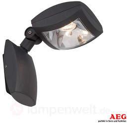 Guardiano - schwenkbarer LED-Außenstrahl...