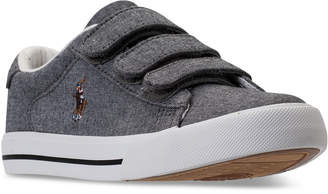 Polo Ralph Lauren (ポロ ラルフ ローレン) - Polo Ralph Lauren Little Boys' Easten Ii Ez Casual Sneakers from Finish Line
