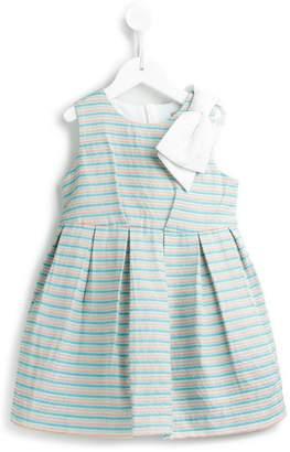 Hucklebones London beach stripe bodice dress