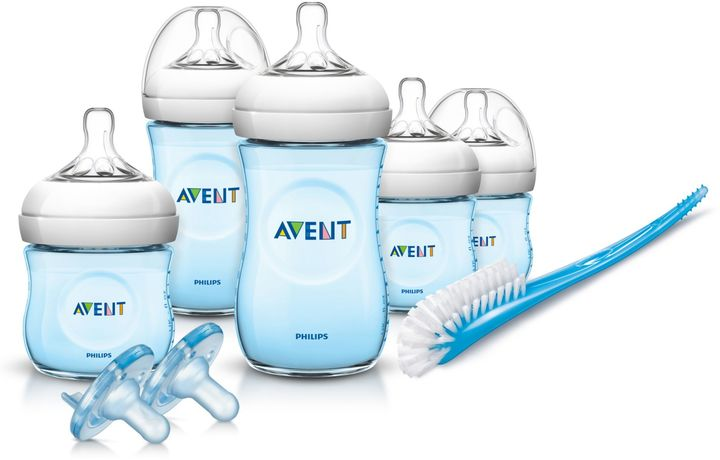 Philips Philips Avent Natural Infant Starter Set in Blue
