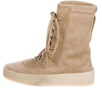 47fa3bad68b3a7 Yeezy Suede Military Crepe Boots