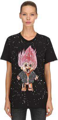 Dom Rebel Troll Painted T-Shirt