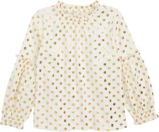 J.Crew crewcuts by Elaine Bubble Sleeve Top