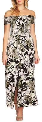 CeCe Soft Palm Maxi Dress